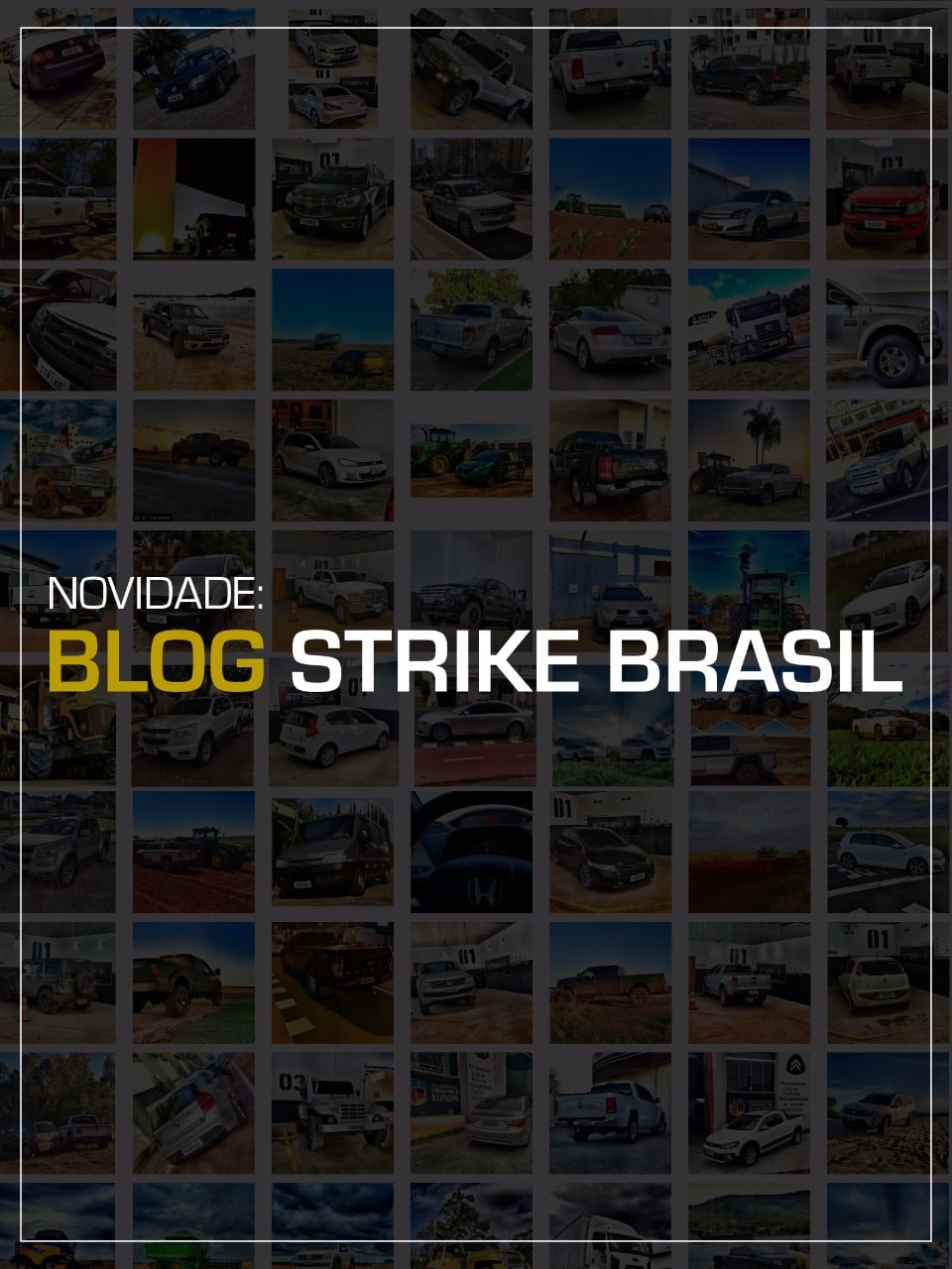 capa lançamento blog srike brasil