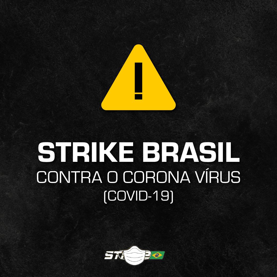 Strike Brasil novo coronavirs covid-19