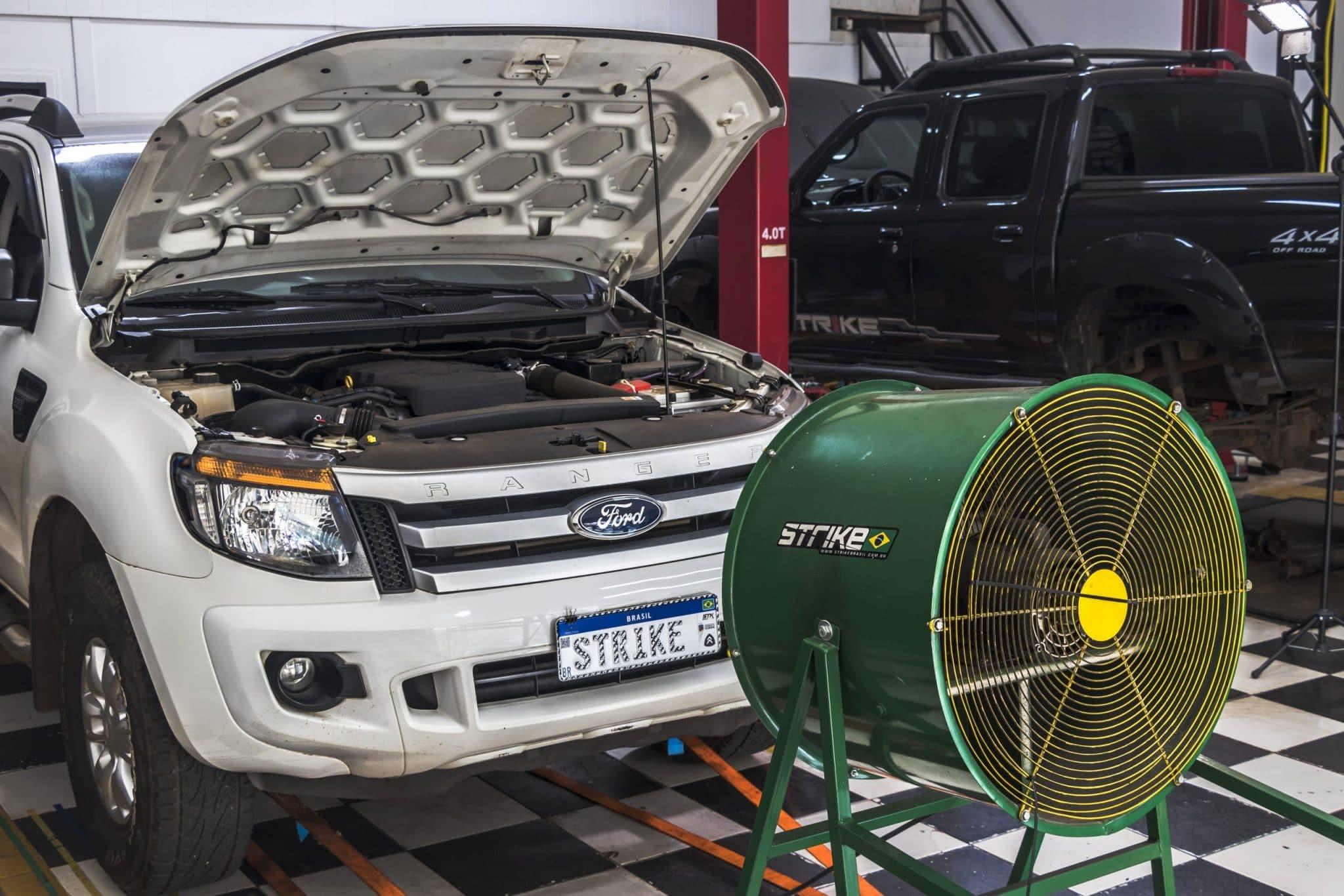 Ford ranger branca remap Strike Brasil
