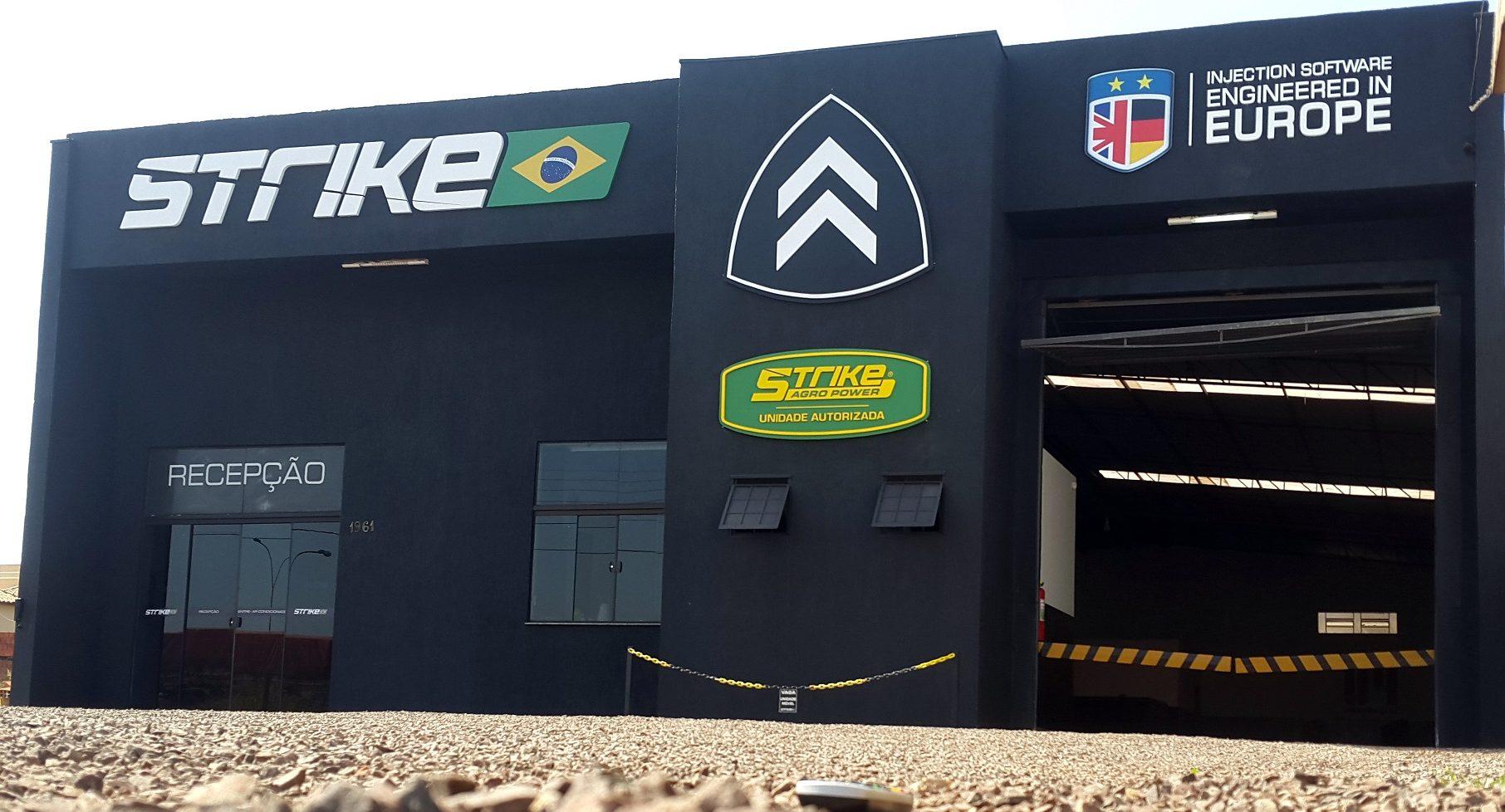 franquia da Strike Brasil - fachada