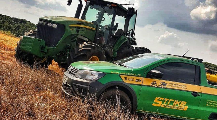 Remap em máquinas agrícolas