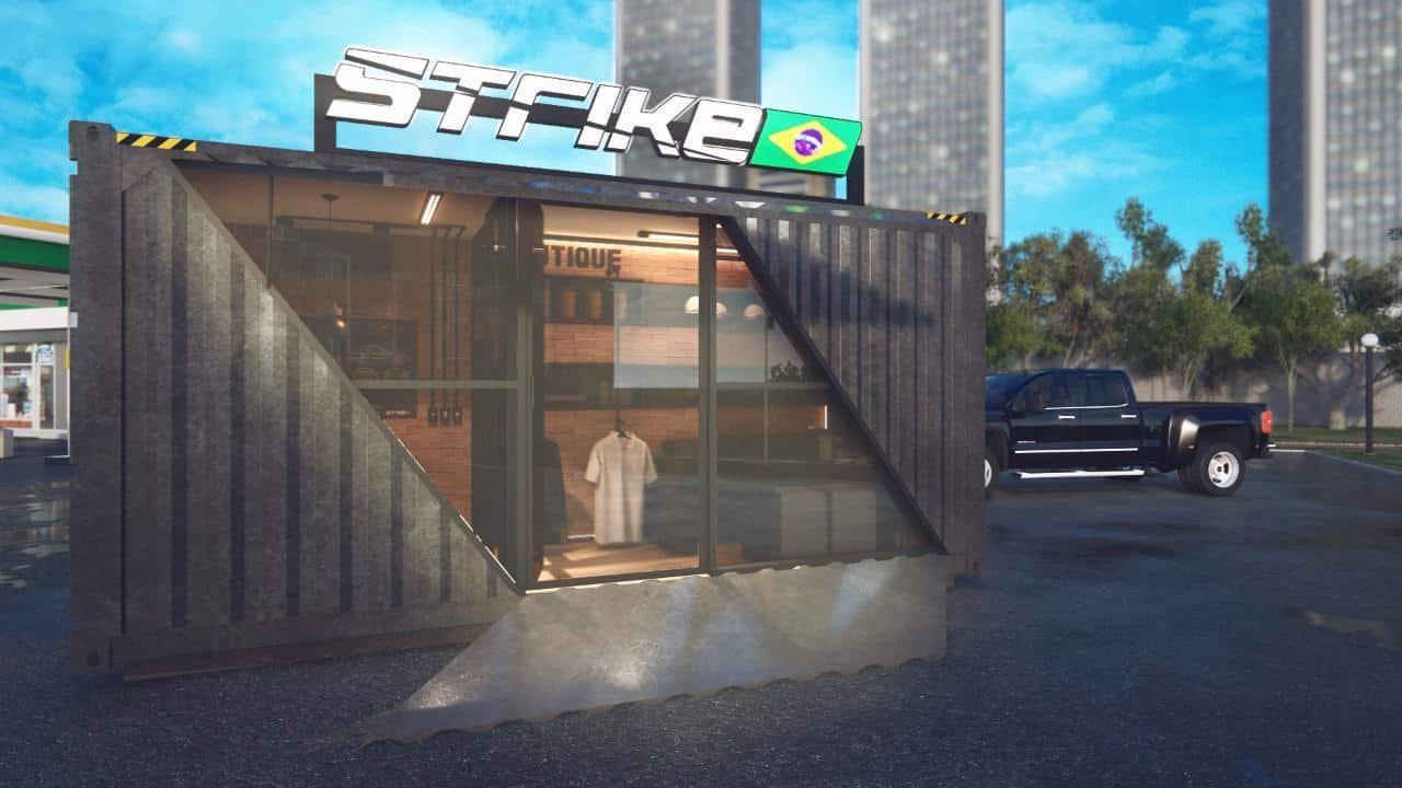 Strike Brasil Express Container franquia