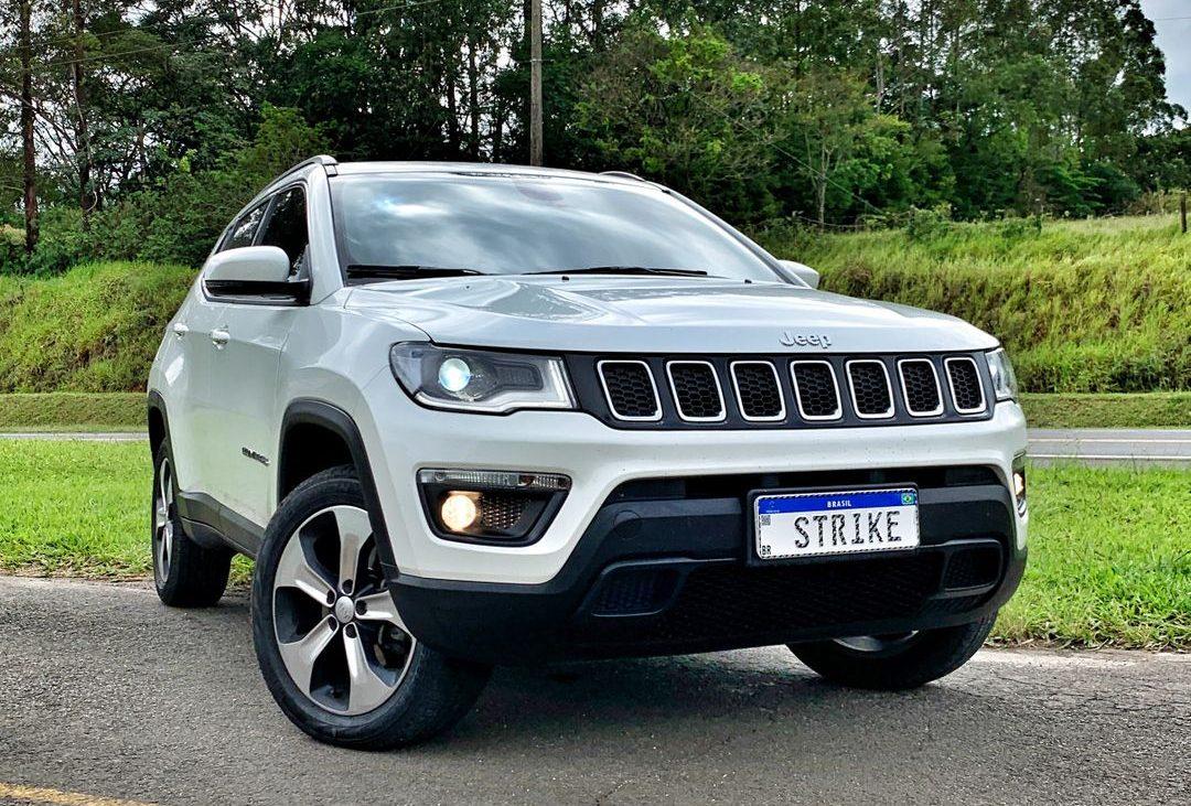 Jeep Compass branco remap performance potência Strike Brasil