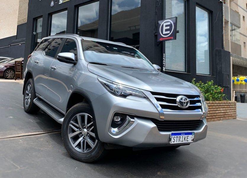 Toyota SW4 2018 remap Strike Brasil