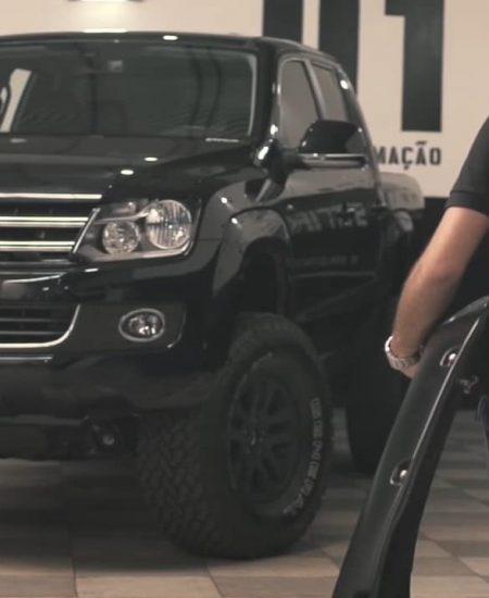 Personalização de pickups e camionetes