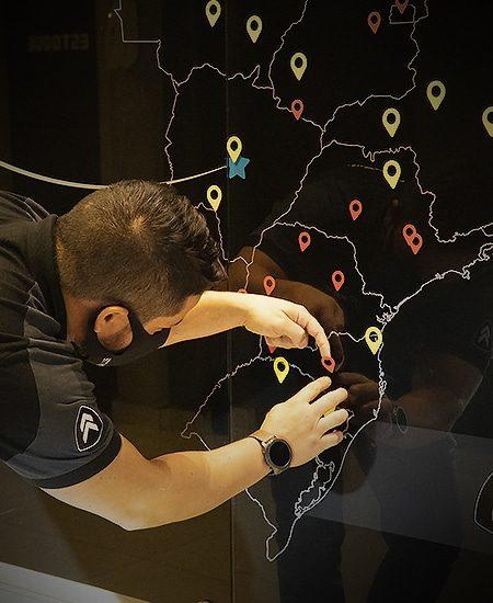 Unidades em todo Brasil